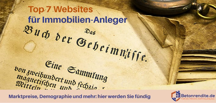 Top 7 Websites für Immobilien-Anleger