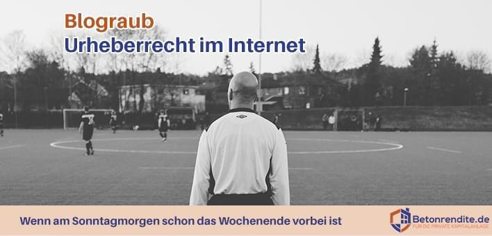 Off-Topic: Blograub und Urheberrecht im Internet