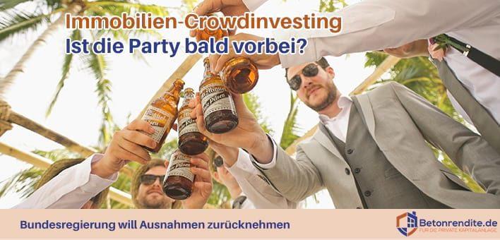 Immobilien-Crowdinvesting: Ist die Party bald vorbei?