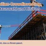 Crowdinvesting Projektauswahl Risiken