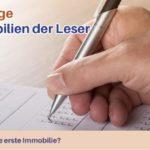 Umfrage: Immobilien-Bestand der Leser