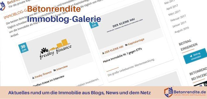 Immoblog-Galerie: aktuelle Infos aus Welt der Immobilien